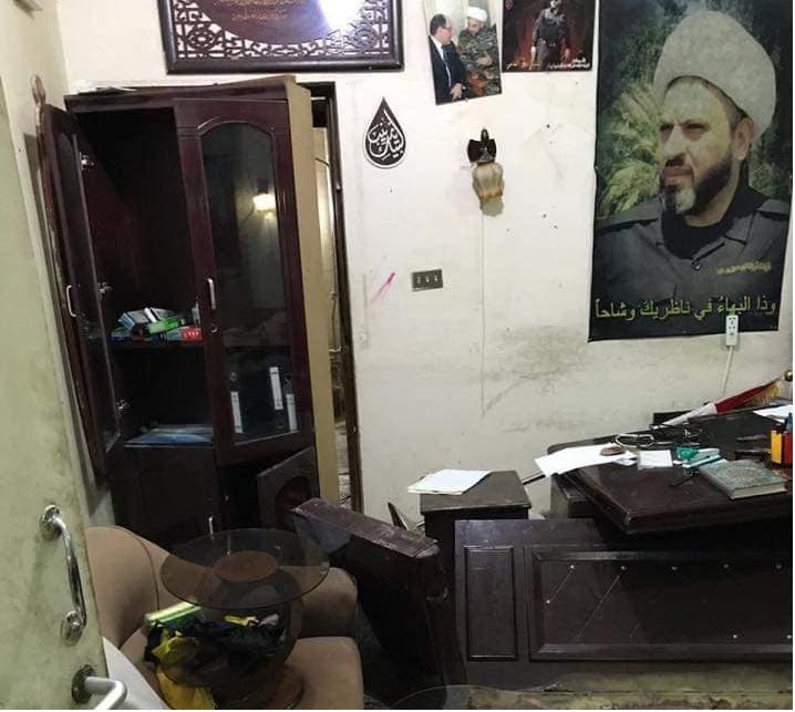 الحشد الشعبي يغلق اربعة مقرات وهمية ببغداد تنتحل صفته احداها يديره اوس الخفاجي