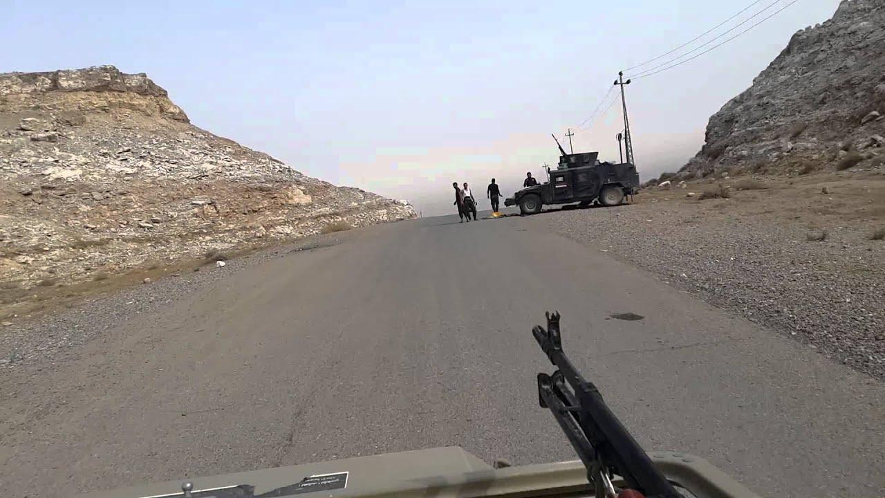 """الحشد الشعبي يعلن انقاذ 30 مدنيا حاصرهم """"داعش"""" في جبال مكحول"""