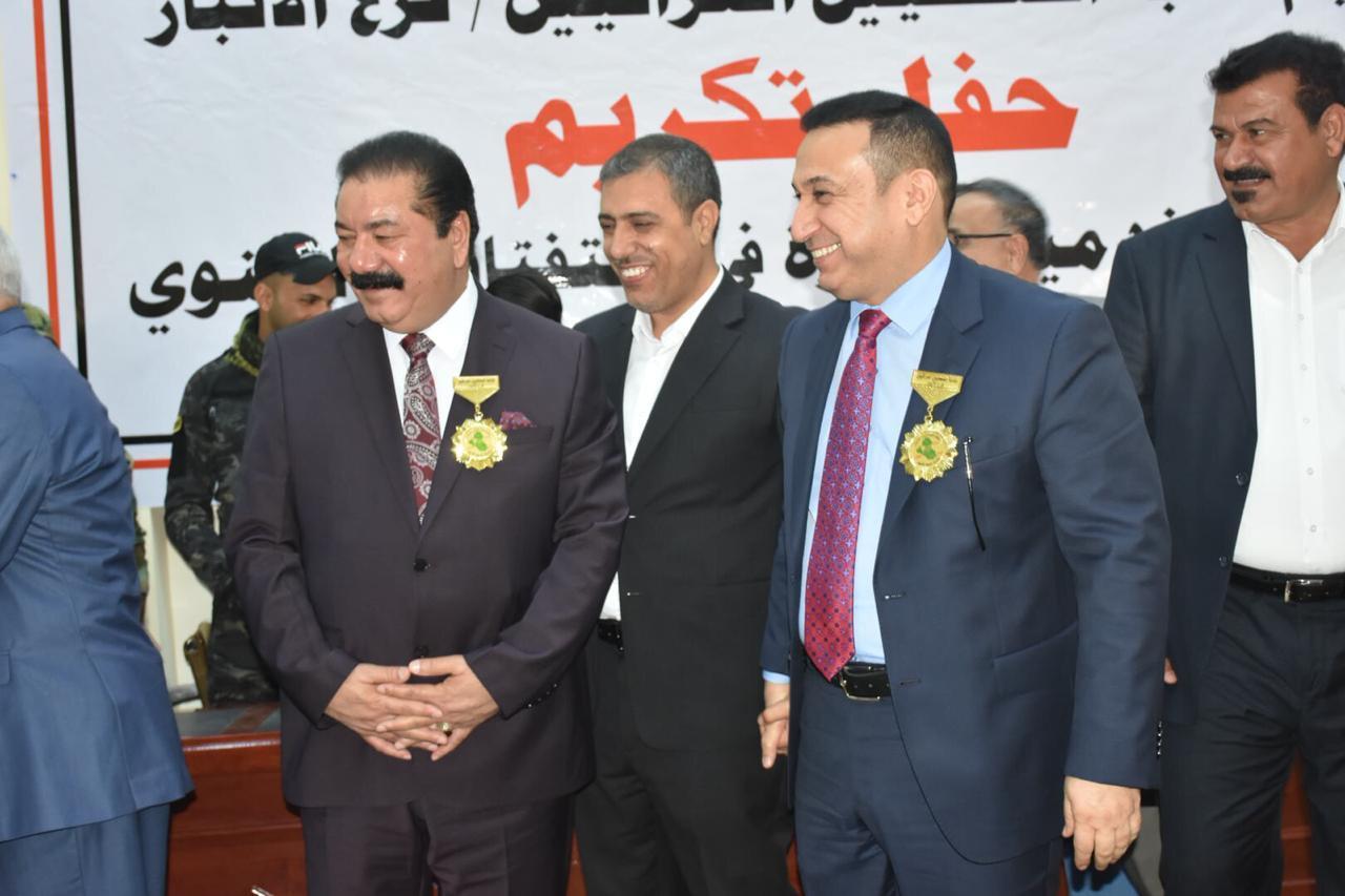 بالصور.. صحة الانبار تفوز بالمركز الأول في استفتاء نقابة الصحفيين