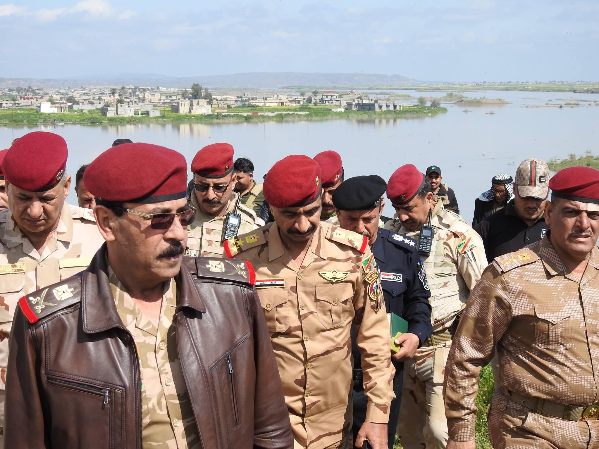 تعيين اللواء الركن نومان عبد الزوبعي قائدا لعمليات نينوى