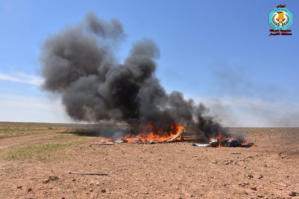 """بالصور.. الفوج التكتيكي يقتل ثلاثة انتحاريين من """"داعش"""" بعملية انزال جوي"""