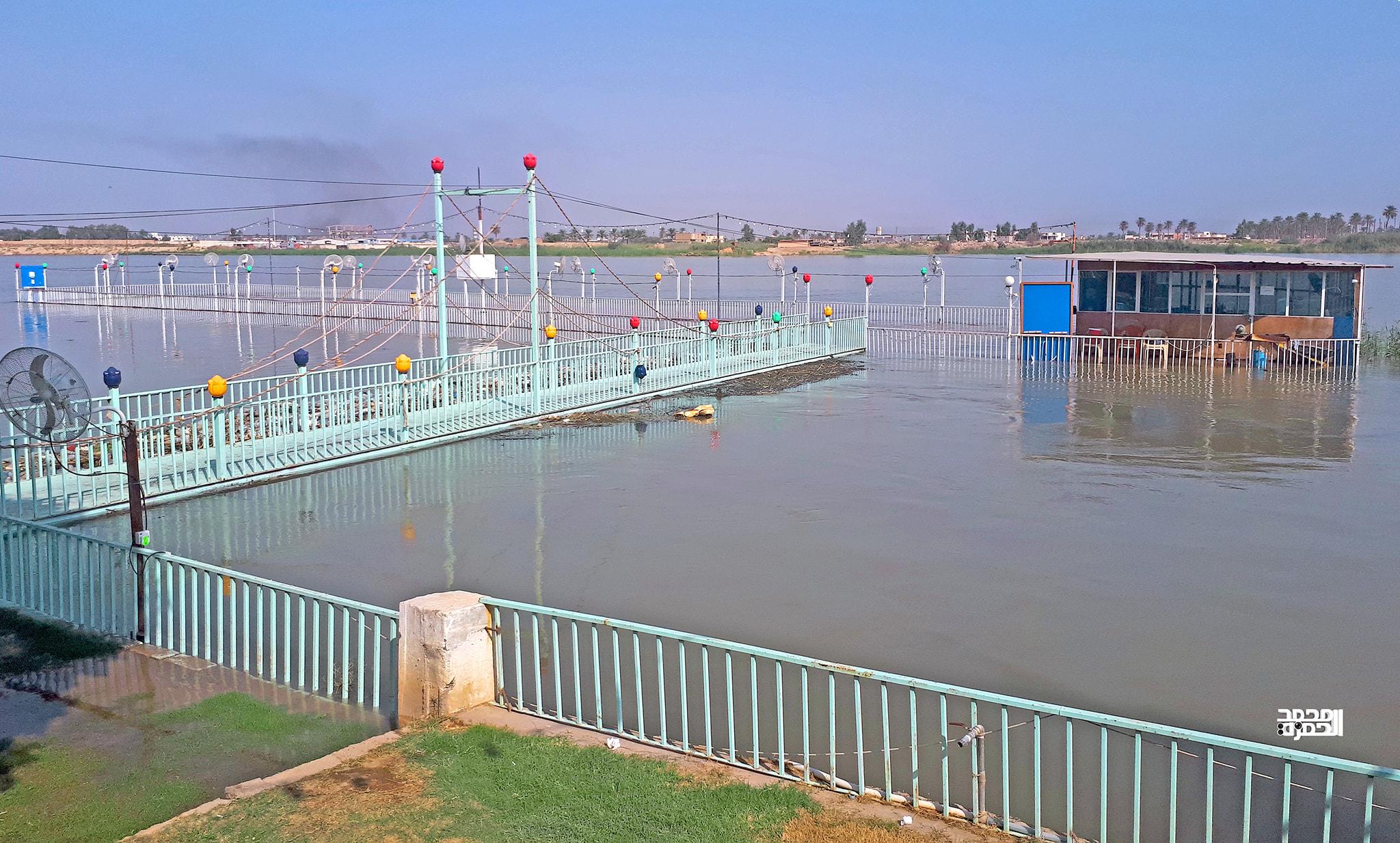 ارتفاع منسوب مياه الفرات والانبار تحذر المتجاوزين