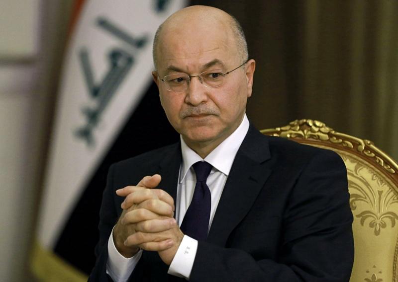"""برهم صالح: 600 متظاهر قتلوا بسبب """"خارجين عن القانون"""""""