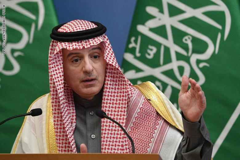 الجبير: لا علاقات بين السعودية وإسرائيل