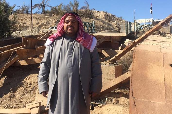 القوات الامريكية تعتقل الشيخ معدي العبيدي في ناحية البغدادي