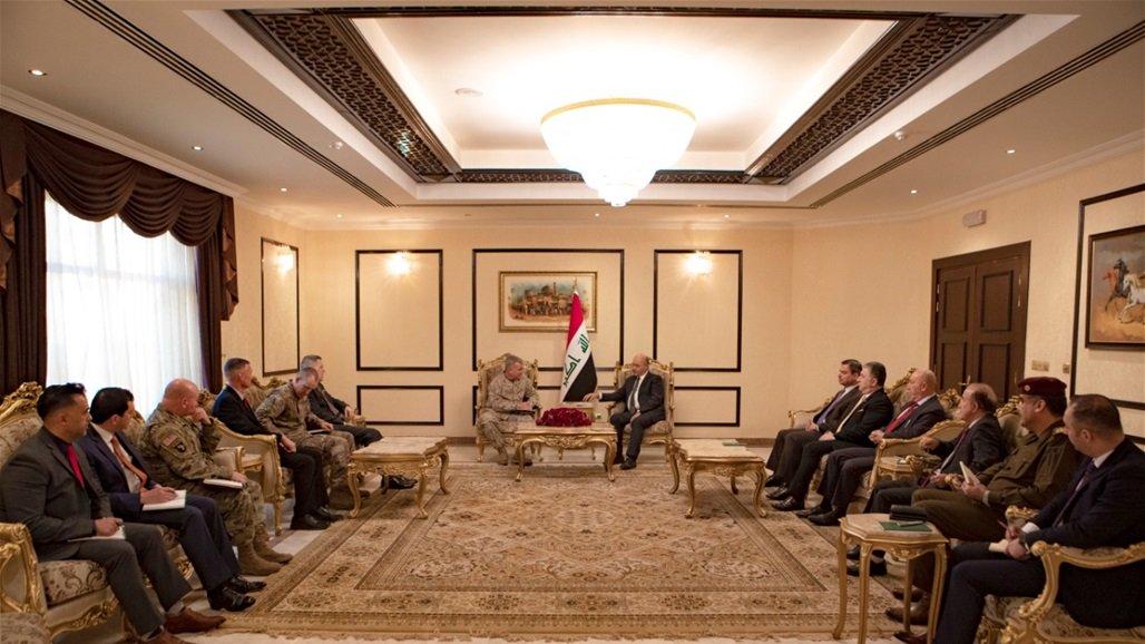 صالح لقائد القيادة المركزية الأمريكية: العراق لن يكون ساحة للصراع الدولي