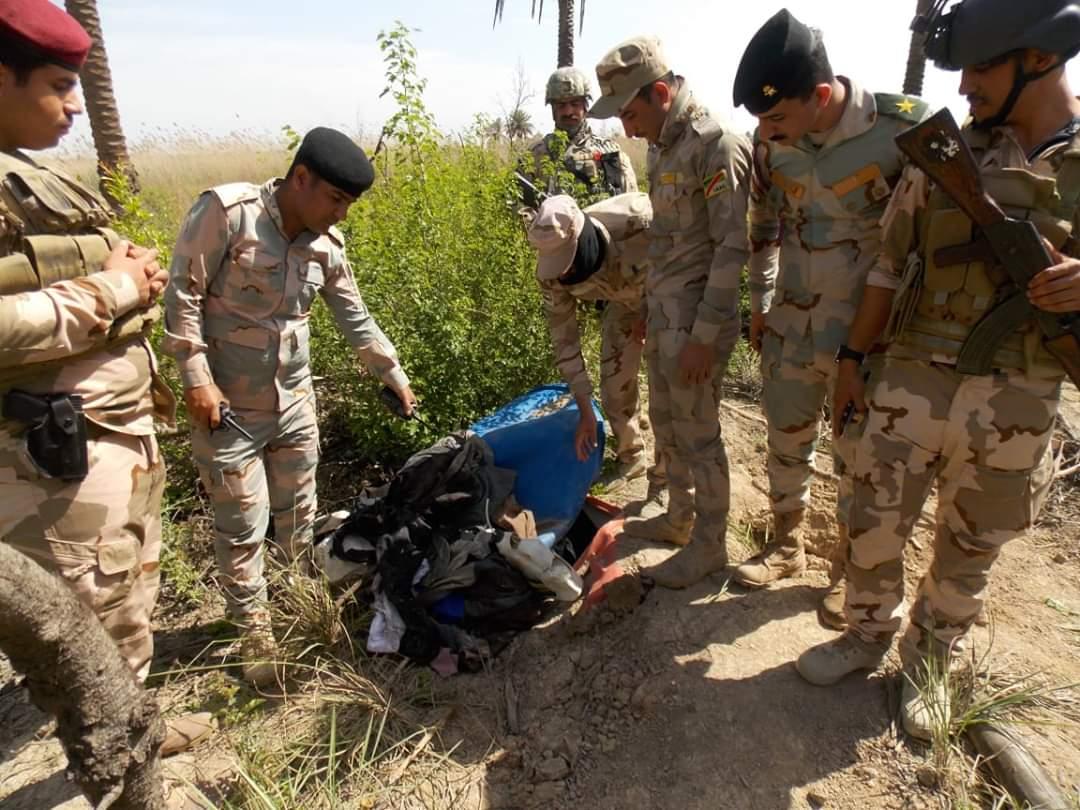 فرقة المشاة الخامسة تعثر على خمس مضافات لداعش في قرية شيخي