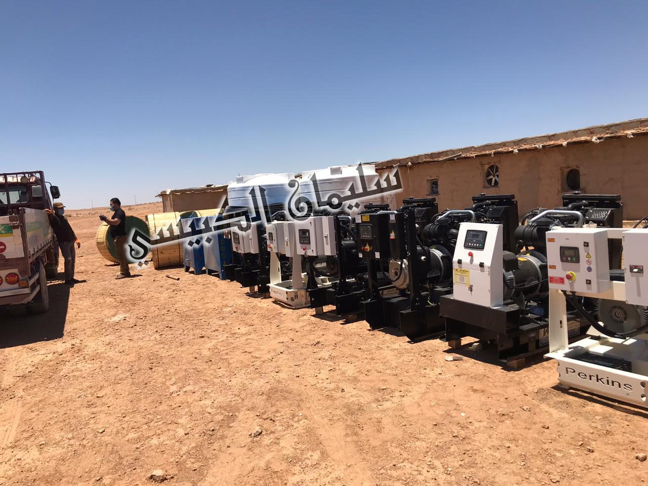بجهود محافظ الأنبار… وصول مولدات كهربائية وخزانات وطواقم ابار لتأهيل المزارع الاهلية بالرطبة