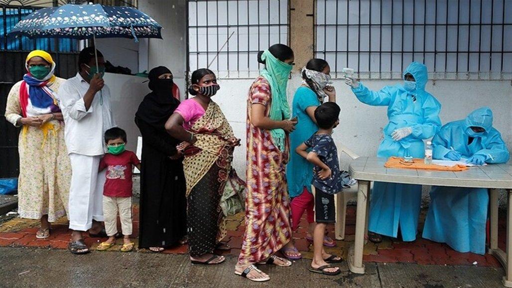 الهند تتخطى عتبة المليون إصابة بكورونا
