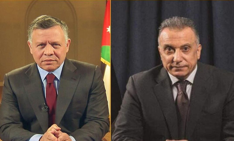 لقاء بين الكاظمي وملك الأردن قبيل القمة الثلاثية