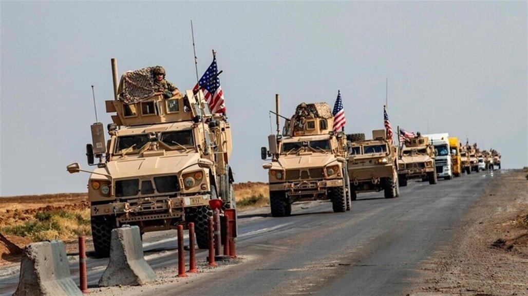 قادمة من العراق.. الجيش الأمريكي يدخل 50 آلية محملة بالعتاد إلى سوريا