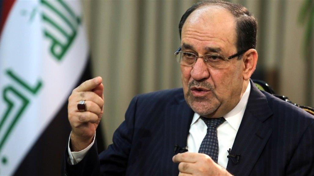 المالكي يعلن دعمه لاي خطوة تتخذها الحكومة بشأن ملاحقة الخارجين عن القانون