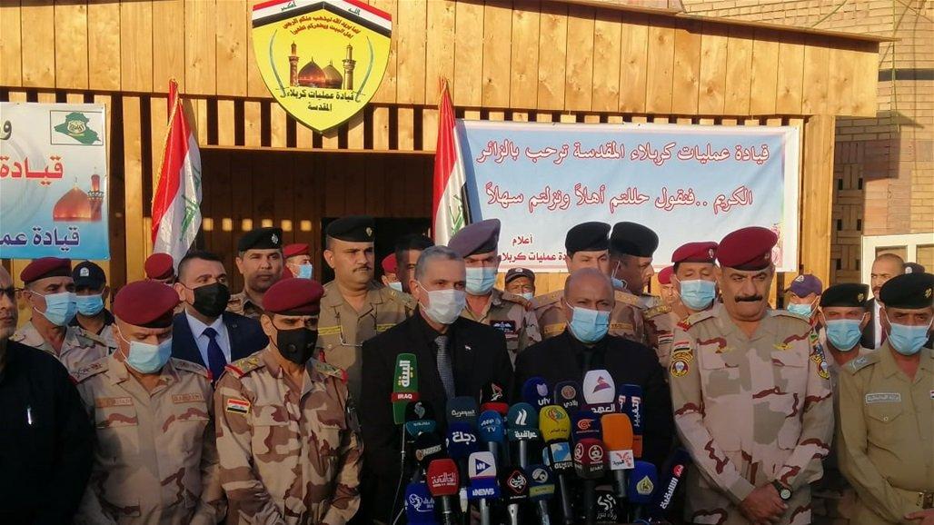 وزير الداخلية من كربلاء: هناك التزام من قبل الزائرين في جميع محاور الزيارة الاربعينية