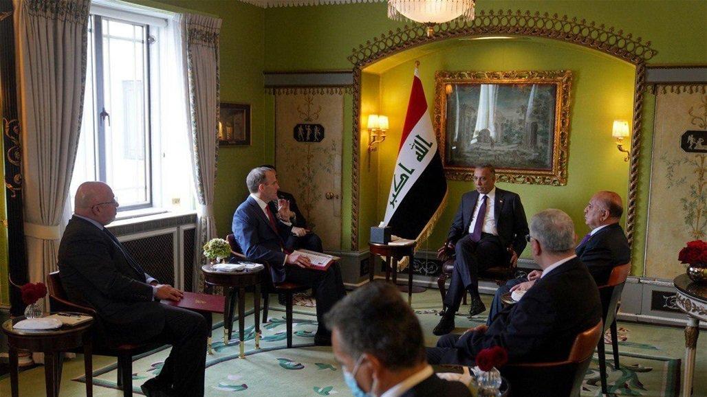 الكاظمي يدعو الشركات البريطانية للاستثمار في العراق