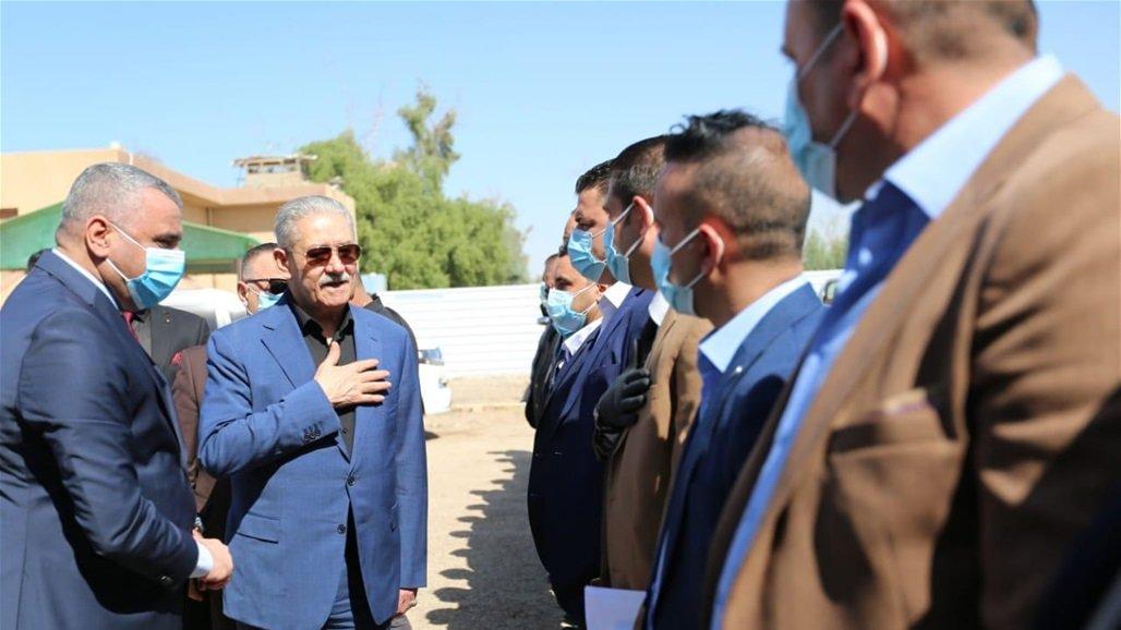 رئيس جهاز الأمن الوطني يصل إلى الأنبار