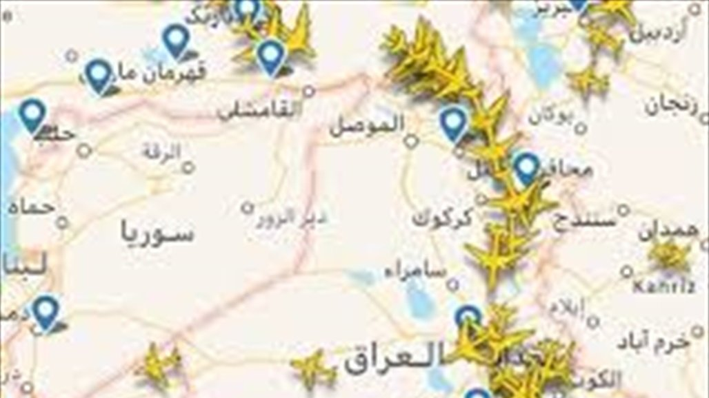 النقل تعلن أعداد الطائرات العابرة والمقبلة والمغادرة لأجواء العراق الشهر الماضي