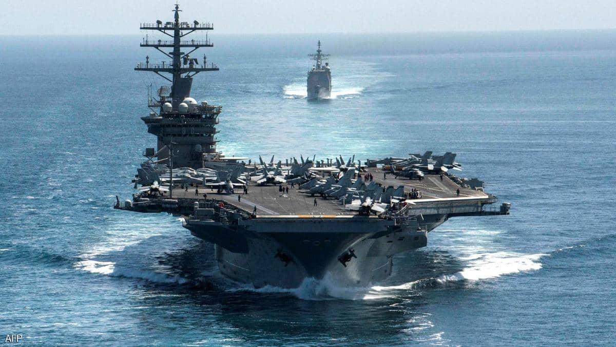 """البنتاغون: حاملة الطائرات الأميركية """"نيميتز"""" ستبقى في الخليج"""