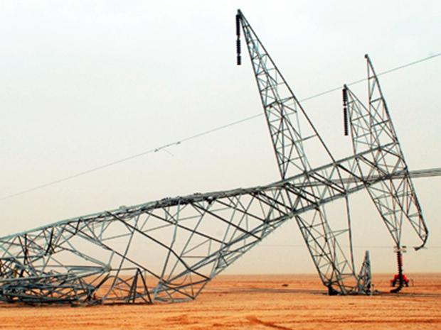 بعمل تخريبي وليس إرهابي… سقوط 5 أبراج جديدة للكهرباء بين حديثة والقائم