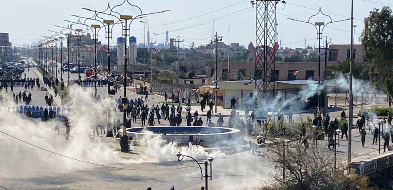 العراق.. 46 مصابا في احتجاجات بـ5 محافظات