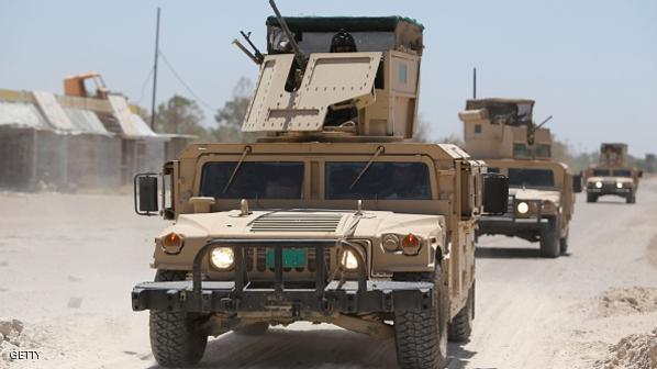 """القوات الأمنية تطهر منطقة زنكورة من جيوب """"داعش"""" شمال الرمادي"""