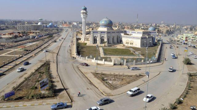 إعادة افتتاح بناية حكومة الانبار في الرمادي
