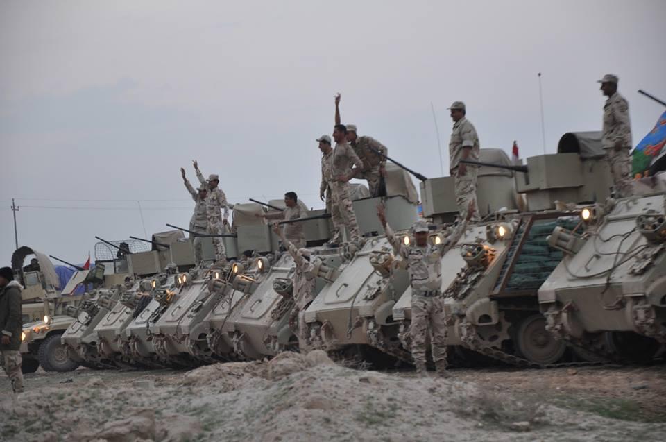 تحرير ست قرى في منطقة الدولاب غربي الانبار