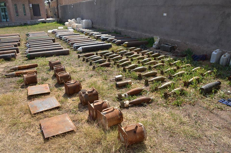 الدفاع المدني تعلن انتهاء رفع وإتلاف أكثر من 6 آلاف قذيفة بالانبار