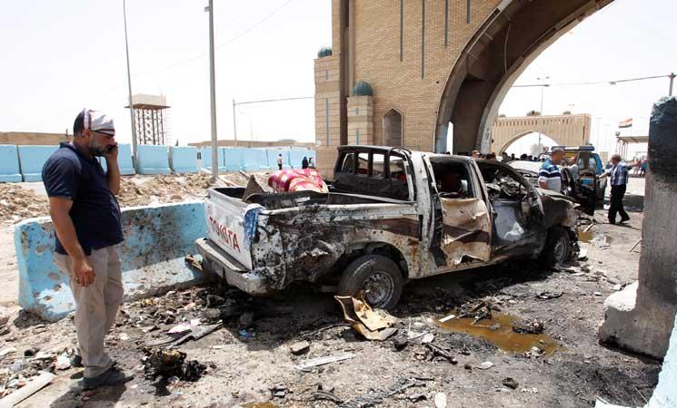 مقتل 12 بتفجير انتحاري بمدينة الكاظمية شمالي بغداد