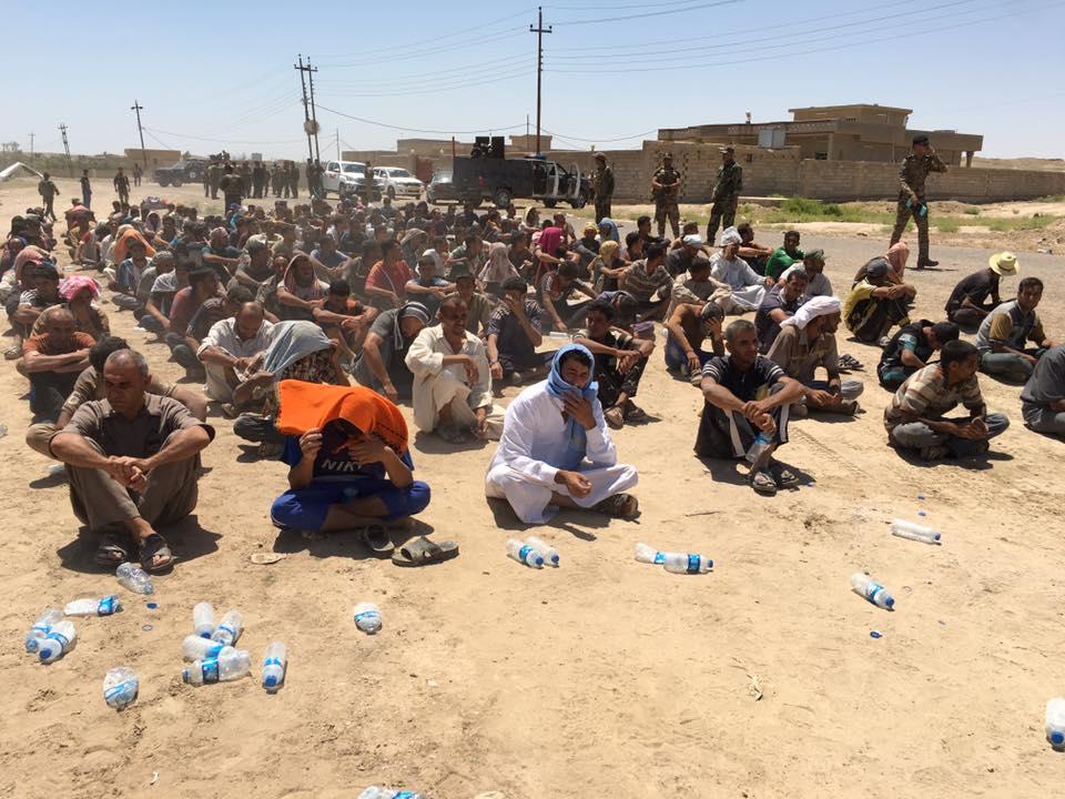 إطلاق سراح 550 محتجزا من ابناء الفلوجة