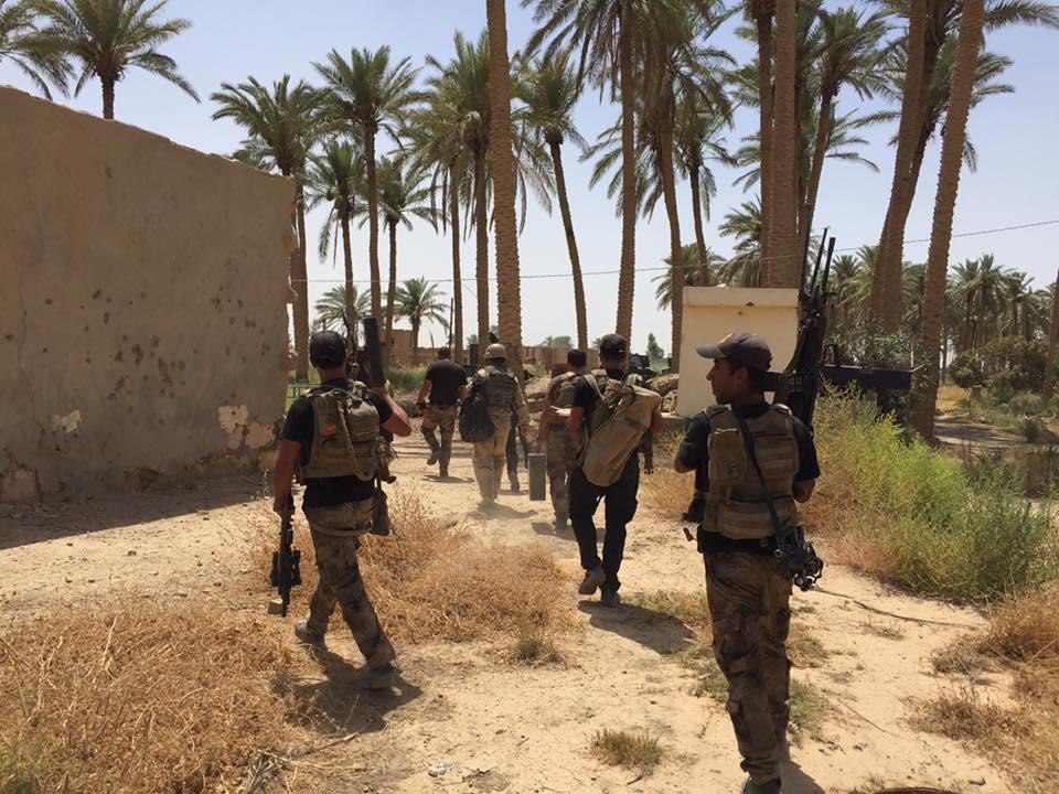 """تحرير قريتي """"الكطينة وسن الذيب"""" بجزيرة البغدادي في الأنبار"""