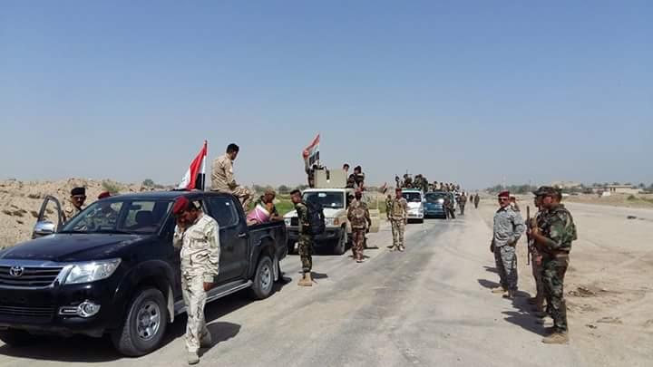 الحشد العشائري يدخل الفلوجة لمسكها مع القوات الأمنية