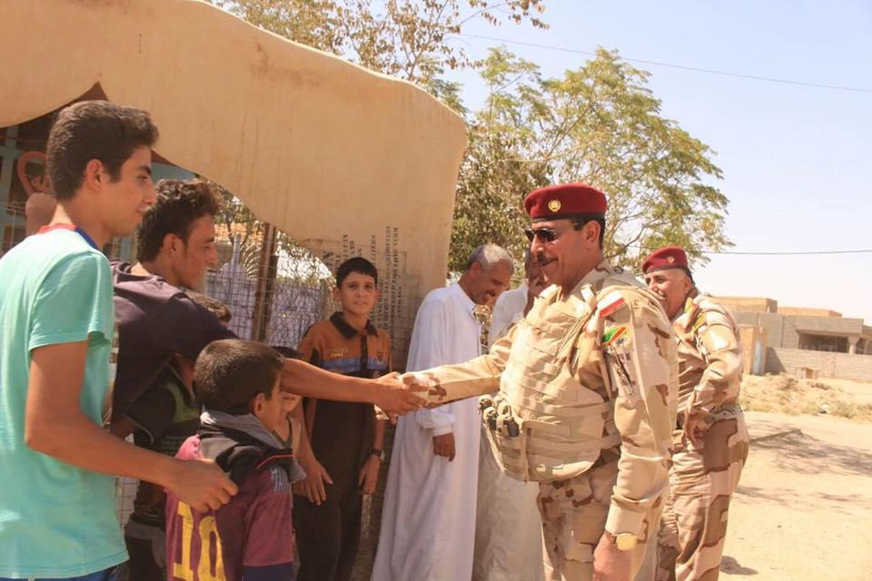 """الجيش والعشائر يمسكون الدولاب في الانبار بعد تحريرها من """"داعش"""""""