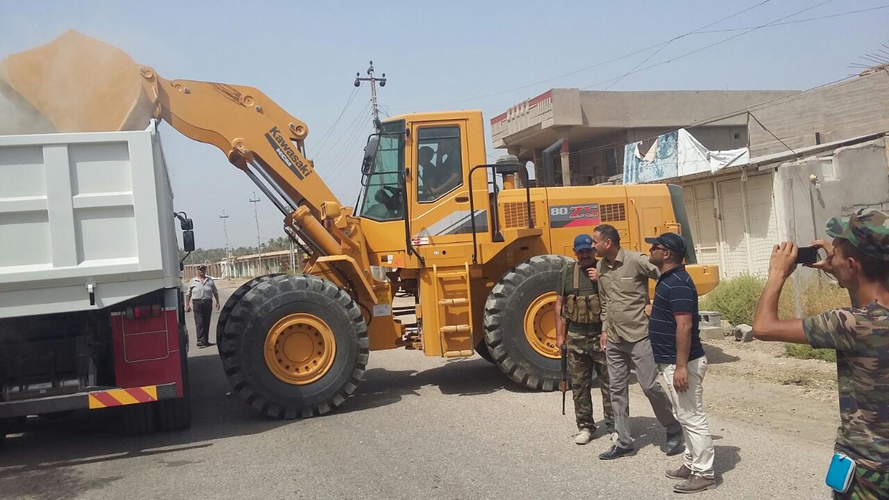 انطلاق حملة لتنظيف الصقلاوية بمشاركة الأجهزة الأمنية والعشائر