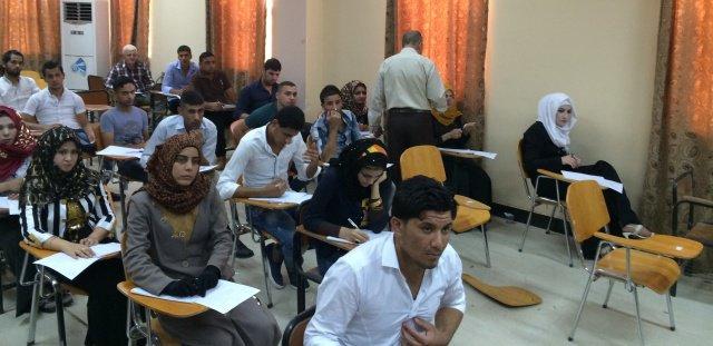منتسبو وطلبة جامعة الانبار في محافظات اقليم كردستان يناشدون باعادة فتح موقع كركوك