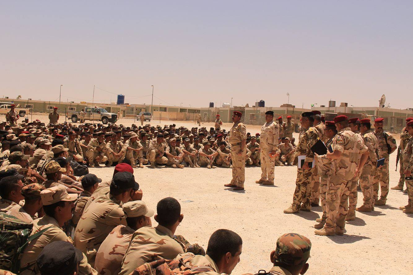 وصول تعزيزات عسكرية للمشاركة بتحرير جزيرتي هيت والبغدادي