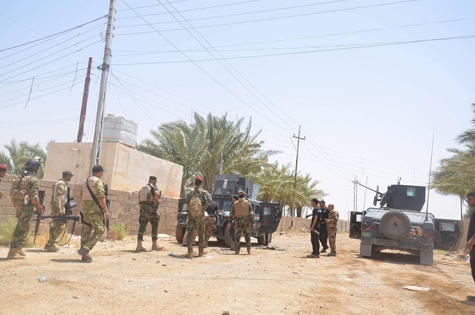"""العثور على مقبرة جماعية لجثث """"داعش"""" في جزيرة الخالدية"""