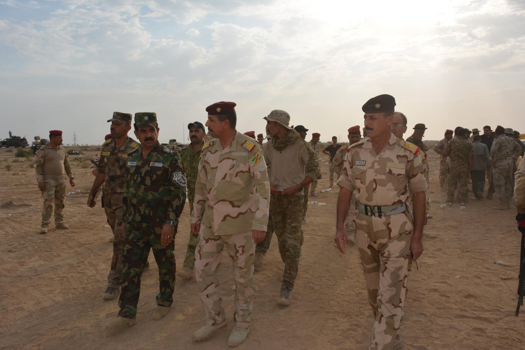 """المحلاوي يعلن اقتحام """"البوكنعان"""" اخر معاقل """"داعش"""" في جزيرة الخالدية"""