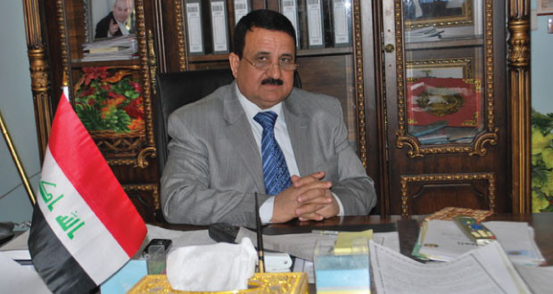 الشعلان يتسلم منصبه قائممقام للفلوجة بحضور اعضاء بمجلس الانبار وقيادات امنية
