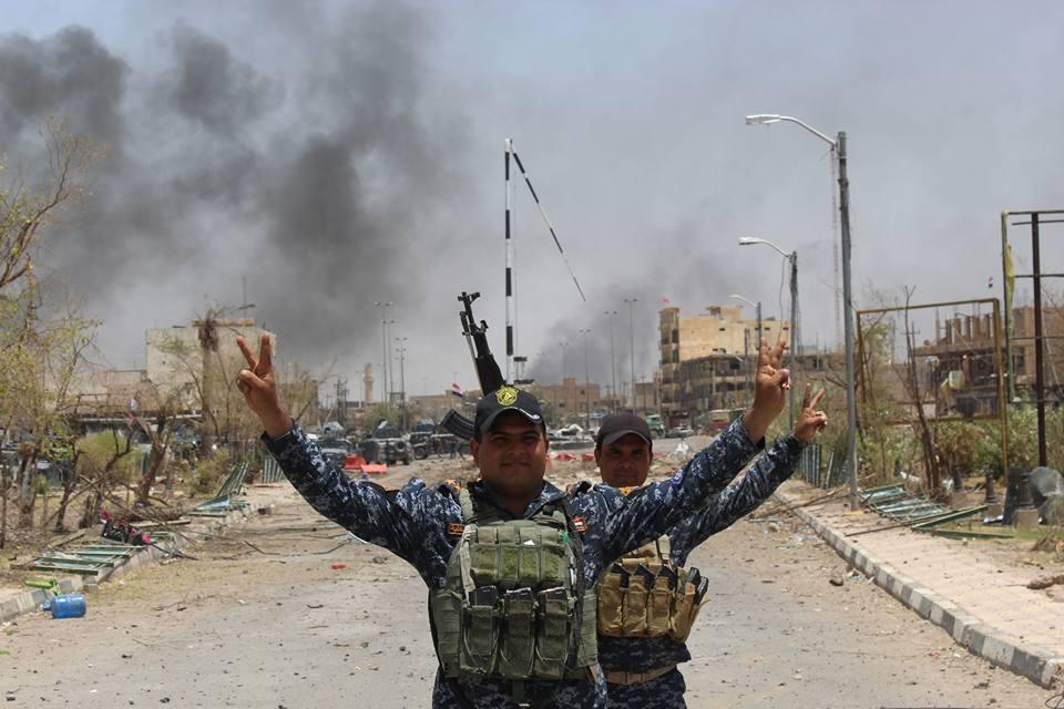 """مقتل 11 """"ارهابيا"""" بينهم انتحاريون بصد هجوم على مقر امني في الرطبة"""