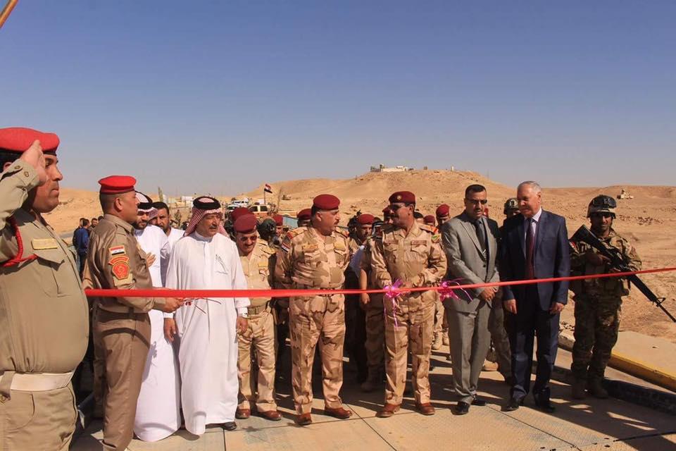 إعادة افتتاح جسر حوران الرابط بين ناحية البغدادي وقضاء حديثة