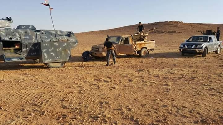 """احباط محاولة تسلل لـ""""داعش"""" شرق الرطبة"""