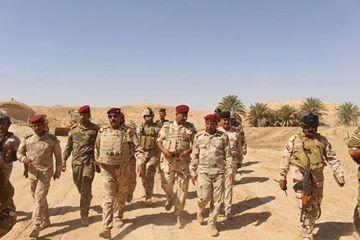 """عمليات الجزيرة تعلن تحرير قرية """"الصفاكية"""" ورفع العلم العراقي فوقها"""