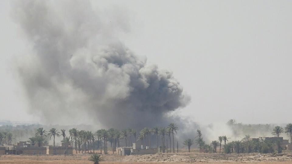 "طيران التحالف يدمر مقراً لـ""داعش"" في راوه غربي الانبار"