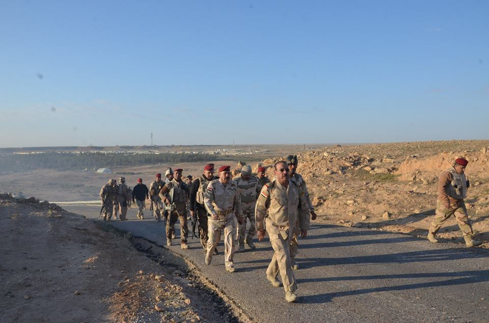 تحرير جسر وحيد في جزيرة البغدادي ورفع العلم العراقي فوقه