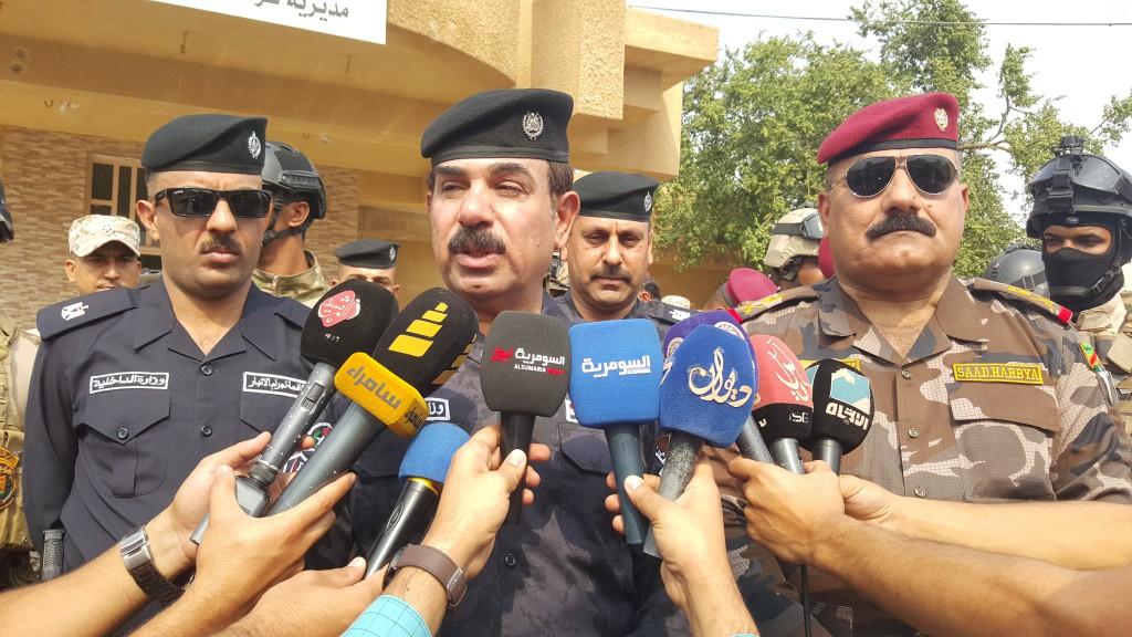 افتتاح مركزي شرطة وشعبة مكافحة الاجرام في الفلوجة