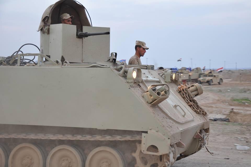 اعفاء قائد الفرقة الاولى بالجيش من منصبه في الأنبار