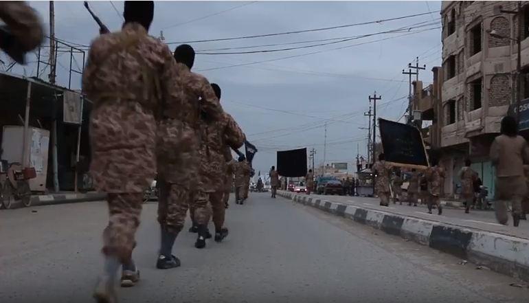 حشد حديثة: داعش يختطف 250 شرطيا وموظفا وينقلهم إلى سوريا