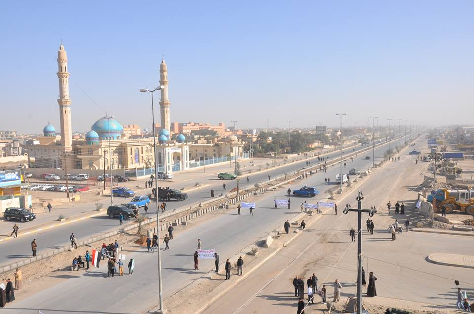 قائد عمليات شرق الأنبار يعلن إعادة فتح طريق فلوجة-كرمة أمام المدنيين