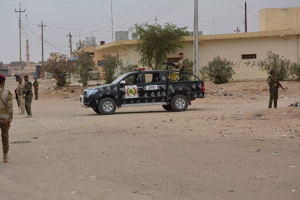 """""""داعش"""" يقصف الرطبة بقذائف هاون والقوات الأمنية ترد بالمدفعية"""