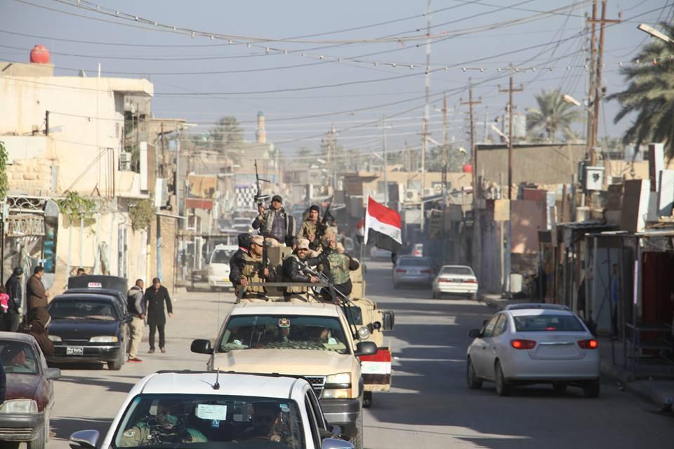 """ابناء العشائر يحبطون هجوم لـ""""داعش"""" بصواريخ كاتيوشا على سد حديثة"""